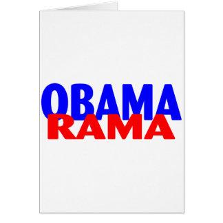 Obama-rama Greeting Card