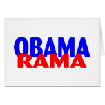 Obama Rama Greeting Cards