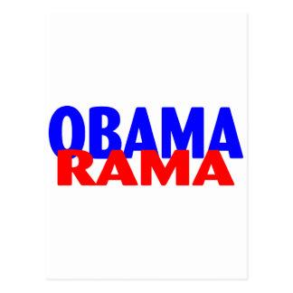 Obama-rama Postcard