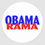 Obama Rama Round Sticker