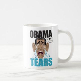 Obama rasga la taza de la obra clásica de 11 onzas