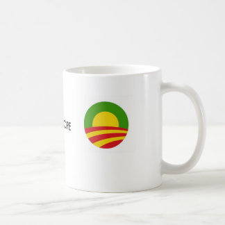 obama rasta O, obama rasta O, ONE HOPE Classic White Coffee Mug