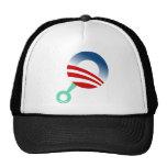obama rattle infant shirt hats