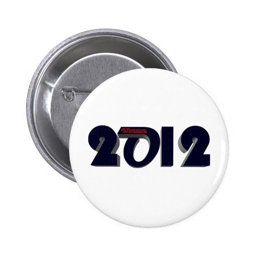 Obama Re Elect 2 Pinback Buttons
