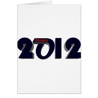 Obama Re Elect 2 Card