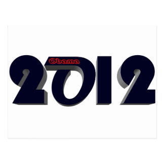 Obama Re Elect 2 Postcard