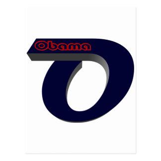 Obama Re Elect Postcard