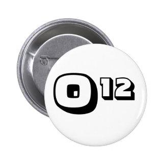 Obama Re-election Pin