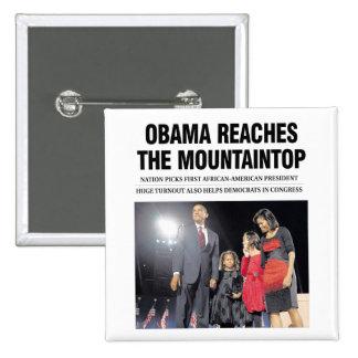 Obama Reaches the Mountaintop Button