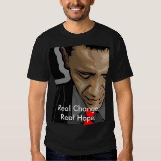 obama Real Change. Real Hope. Shirt