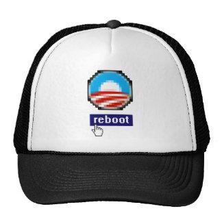 OBAMA REBOOT TRUCKER HAT