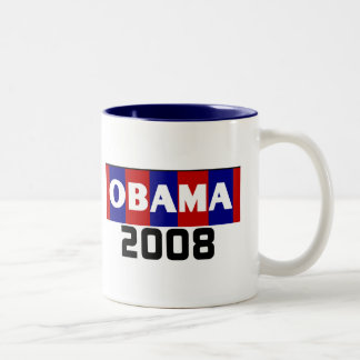 Obama Red White Blue 08  Mug