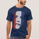 Obama Red White & Blue Face shirt