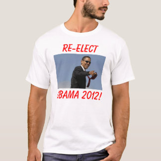 ¡obama, REELIGE, OBAMA 2012! Playera