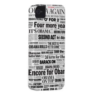 Obama reeligió 2012 el caso del iPhone 5 del iPhone 4 Protector