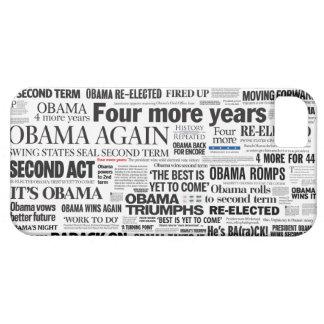 Obama reeligió 2012 el caso del iPhone 5 del títul iPhone 5 Carcasa