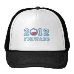 Obama remite 2012 gorras