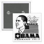 Obama remite 2012 pin