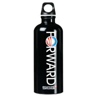 Obama remite el logotipo botella de agua