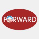 Obama remite el logotipo pegatina de óval personalizadas