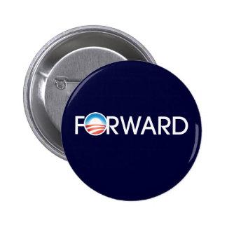 Obama remite el logotipo pin redondo de 2 pulgadas