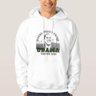 Obama Renewable Energy Nobel Peace Prize Hoodie