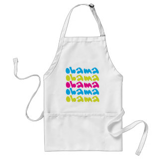 obama repeat adult apron