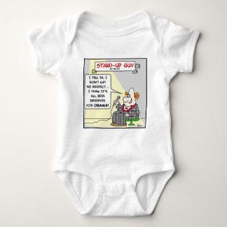 obama respect reserved baby bodysuit