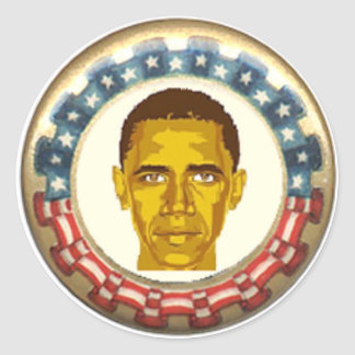 Obama Retro Sticker