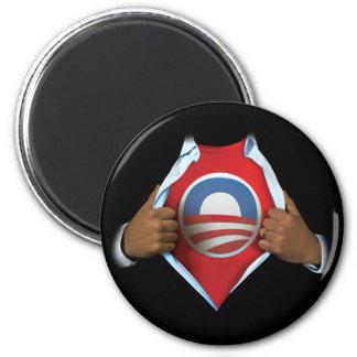 Obama revela imán para frigorifico