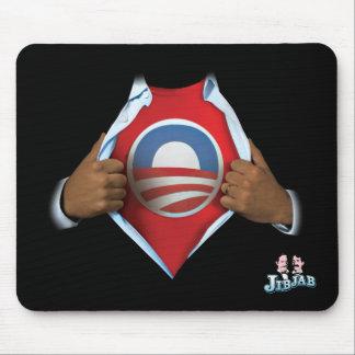 Obama revela alfombrilla de ratones