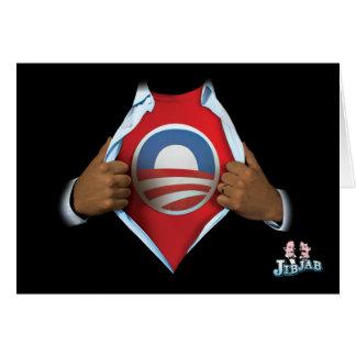 Obama revela tarjeta de felicitación