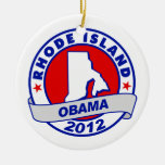 Obama - rhode island ornament