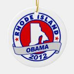 Obama - Rhode Island Ornamentos De Reyes