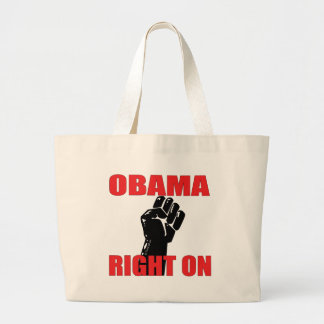 OBAMA RIGHT ON BAGS