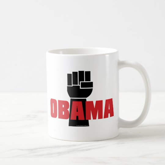 Obama Right On! Coffee Mug