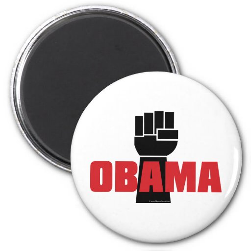 Obama Right On! Magnets