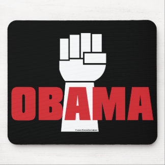 Obama Right On! Mousepad