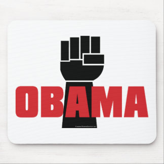 Obama Right On Mouse Pad