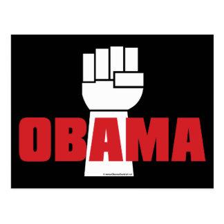 Obama Right On! Postcard
