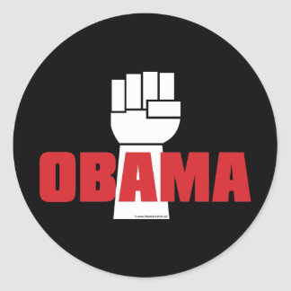 Obama Right On! Stickers