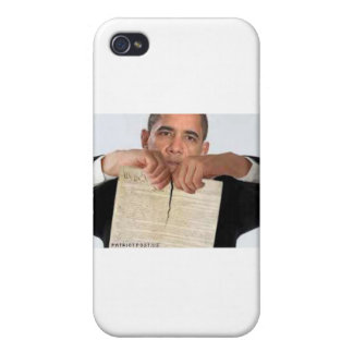 Obama Ripping Up the Constitution Cases For iPhone 4