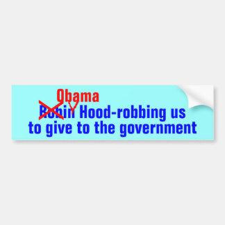 Obama (Robin) Hood Bumper Sticker