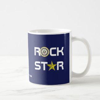 Obama - Rock Star Coffee Mug