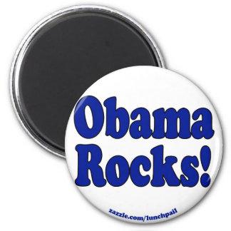 Obama Rocks Magnet
