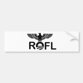 Obama: ROFL Car Bumper Sticker