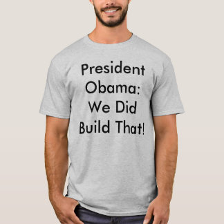 Obama Romney election business anti conservative T-Shirt