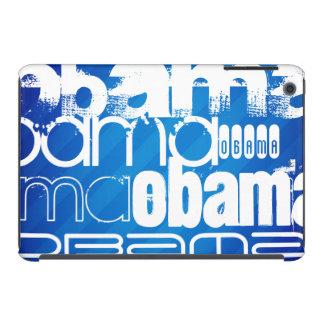 Obama; Royal Blue Stripes iPad Mini Case