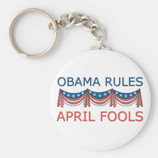 Obama Rules April Fool's Keychains