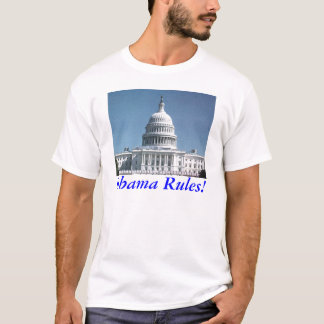 Obama Rules! Capitol Dome T-Shirt